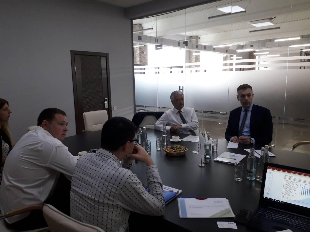 ВАР провела зустріч з послом Німеччини для обговорення можливих напрямів співпраці